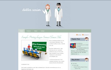blogspot template free theme about dockter, medical, or paramedic,hospital