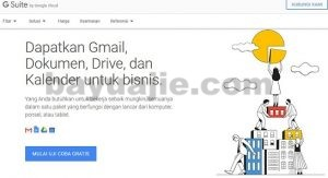 setting email menggunakan G suite